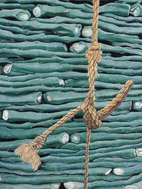 Stacked Nopales, 2002 by Pedro Diego Alvarado