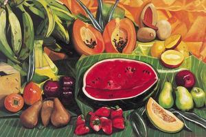 Still Life with Watermelon, 2005 by Pedro Diego Alvarado