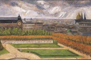 View of the Tuileries, 1995 by Pedro Diego Alvarado