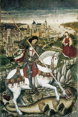 Altarpiece of Saint George by Pedro Nisart