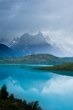 Torres Del Paine and Pehoe Lake by Pedro Nunez Photography