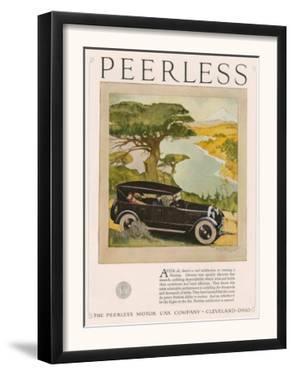 Peerless, Magazine Advertisement, USA, 1924
