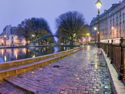Quai de Valmy on Canal St.-Martin