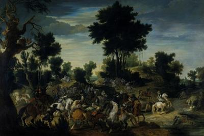 Riders Advancing into a Brook, 1601-15