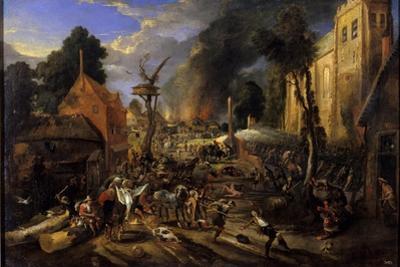 Spanish Conquest of a Flemish Village
