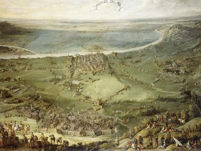 The Spanish and Imperial Troops Defeated by France and Savoy at Valenza Po