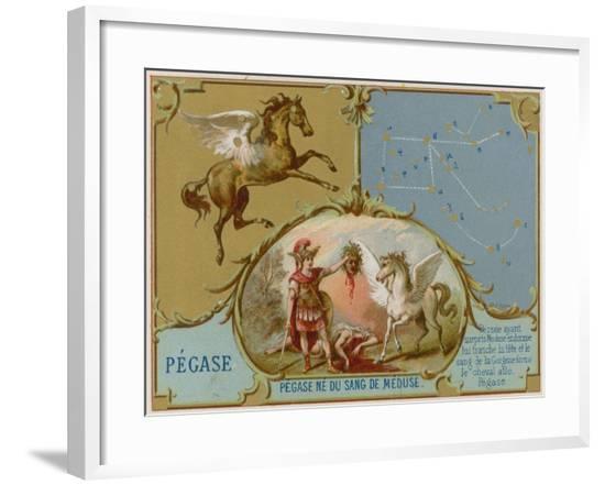 Pegasus--Framed Giclee Print