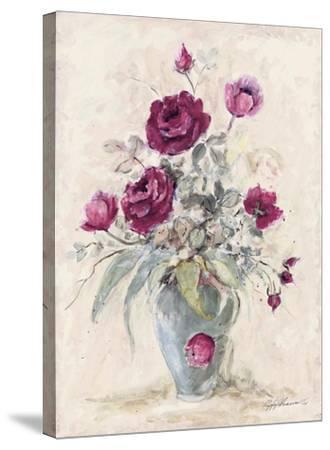 Crimson Roses l by Peggy Abrams