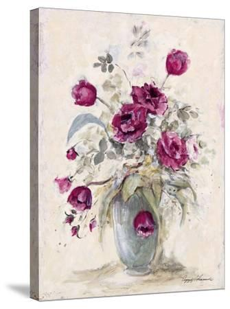 Crimson Roses ll by Peggy Abrams