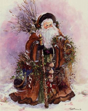 Santa's Bounty by Peggy Abrams