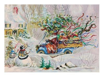 Santa's Dumptruck by Peggy Abrams