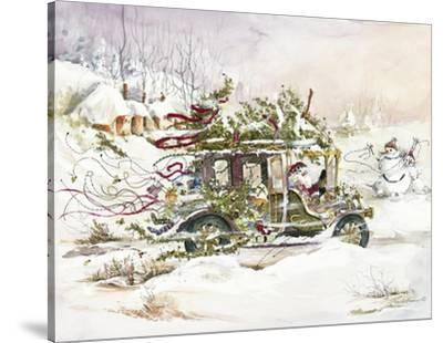 Santa's Limousine by Peggy Abrams