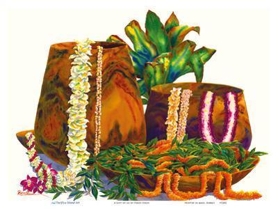 A Gift of Lei - Hawaiian Leis, Koa Wood Bowls, Ti Leaves by Peggy Chun