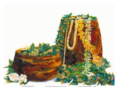 A Lei Never Forgotten - Hawaiian Leis, Koa Wood Bowls by Peggy Chun