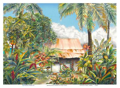 Banana Patch Heaven - Hawaiian Beach House (Hale) by Peggy Chun