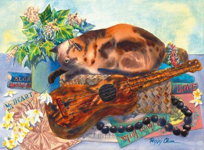 Mele Ho'oipoipo (Song of Love) - Hawaiian Cat, Ukulele by Peggy Chun