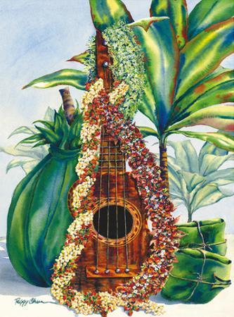 Mele Pua (Flower Song) - Hawaiian Ukulele, Leis, Ti Leaves Offering by Peggy Chun
