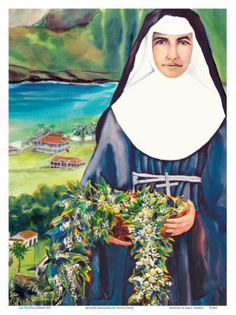 Mother Marianne - Hawaiian Saint of Kalaupapa Molokai Leper Settlement by Peggy Chun