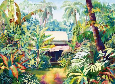 Old Style - Hawaiian Jungle Surf Shack by Peggy Chun