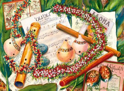 'Oli 'Oli (Hawaiian Chants) - Gourds, Nose Flute by Peggy Chun