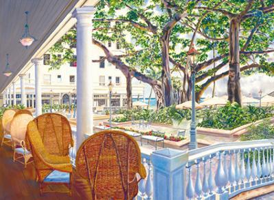 Romance of the Moana - Moana Hotel, Waikiki Beach - Honolulu, Hawaii by Peggy Chun