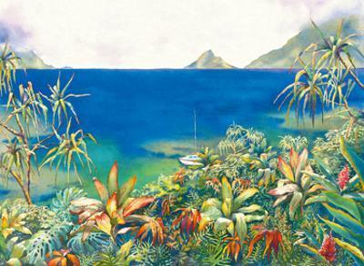Secret Peace - Serene Hawaiian Bay by Peggy Chun
