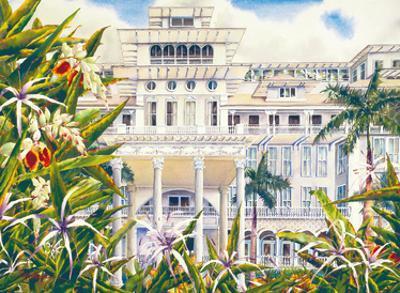 The Moana - Historic Hawaiian Hotel - Waikiki Beach, Honolulu by Peggy Chun
