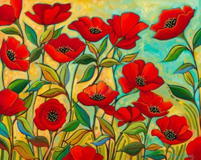 Poppy Garden by Peggy Davis