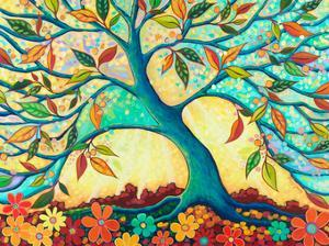 Tree Splendor I by Peggy Davis