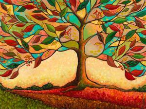 Tree Splendor II by Peggy Davis