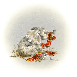 Elephant by Peggy Harris