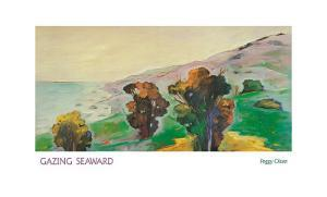 Gazing Seaward by Peggy Olsen