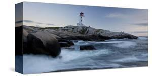 Peggys Cove Lighthouse Sunset