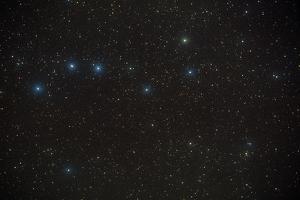 Constellation of Ursa Major, the Great Bear. by Pekka Parviainen