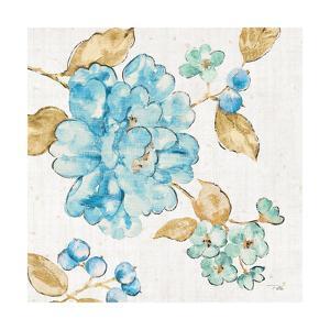 Blue Blossom II by Pela