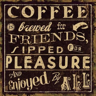 Coffee Quote II by Pela Design