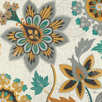 Decorative Nature III Turquoise Cream by Pela Design