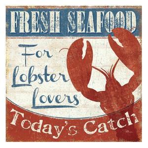 Fresh Seafood I by Pela Design