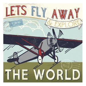 Let's Travel II by Pela Design