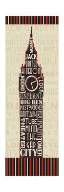 London City Words II Border by Pela Design