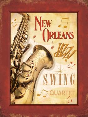 New Orleans Jazz II by Pela Design