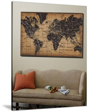 Old World Map by Pela Design