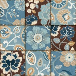 Patchwork Motif Blue by Pela Design