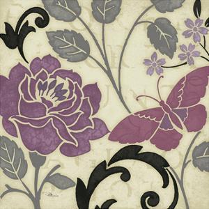 Perfect Petals I Lavender by Pela Design
