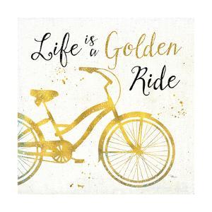 Golden Ride I by Pela Studio