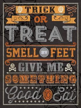 Halloween Talk I Orange by Pela Studio