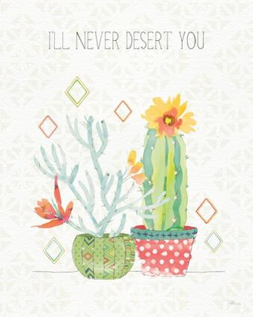Sweet Succulents V by Pela Studio