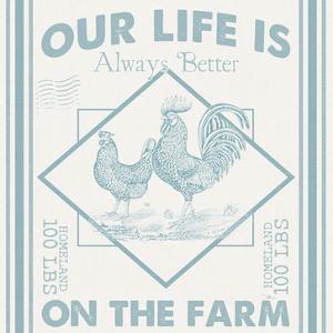 Vintage Farmhouse III by Pela Studio