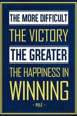 Pele Winning Quote (Brazil)