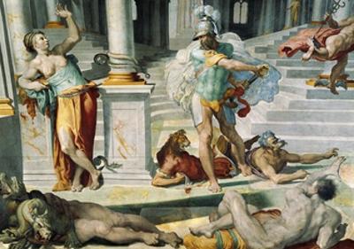 Ulysses and the Sorceress Circe, Circa 1550